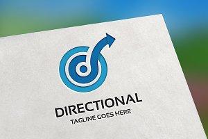 Directional (Letter D) Logo