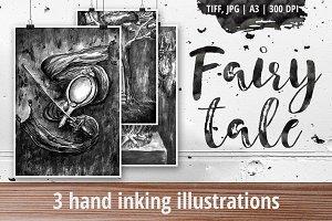 Fairy tale - 3 illustrations