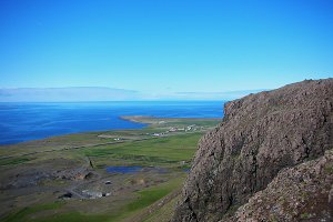 The Mountain Esja in Reykjavik