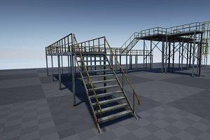 Modular industrial platform PBR