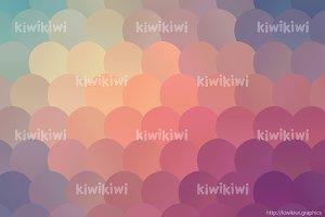 Pastel feminine pattern vector