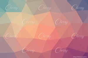 Abstract feminine colors vector