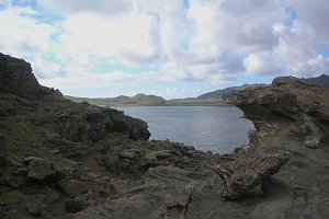 Kerid crater - Volcanic crater lake in Iceland