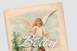 vtg greetings, angel of hope