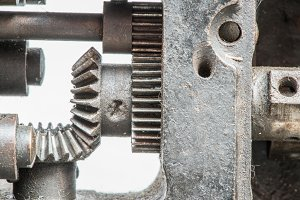 Machine partes mechanism