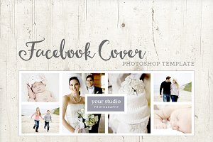 Facebook Cover Template - PSD