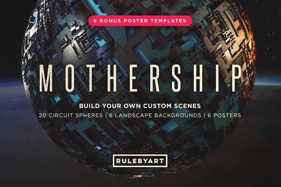 20 Mothership Circuit Spheres