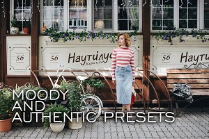 6 Moody Authentic Lightroom Presets