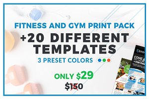 Fitness Gym Business Print Pack