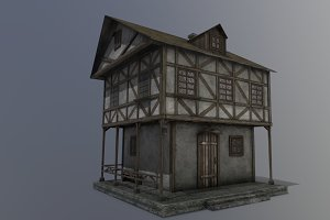 Medieval house A PBR