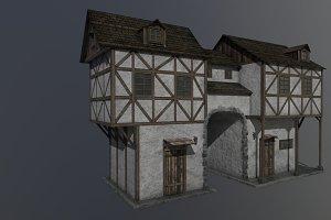 Medieval house B PBR