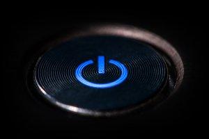 Start button with light