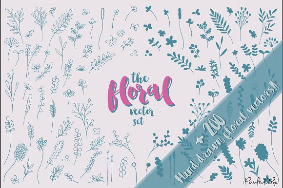 The Floral Vector Set
