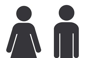 Bathroom Sign Vector Icons