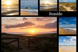 30 beach photos bundle