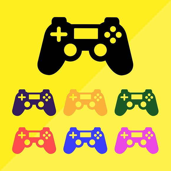 Video Game Controller Vector Pack