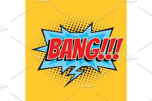 Bang Comic Word