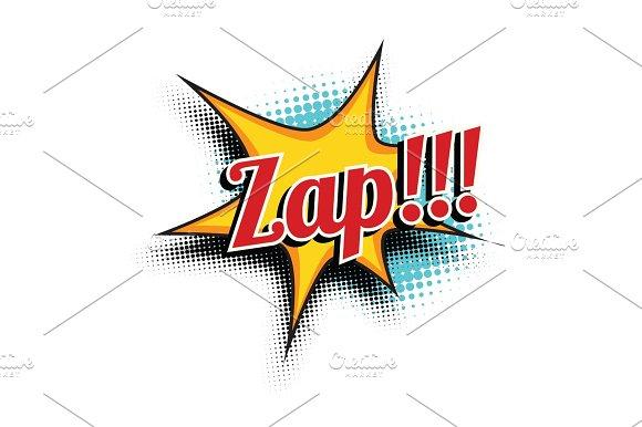 Zap Comic Word