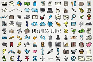 Business & Computing Icons