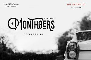 Monthoers Typeface 2.0