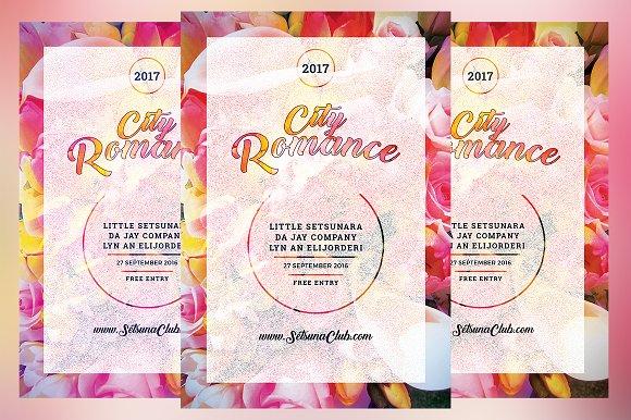City Romance Flyer