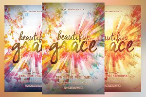 Beautiful Grace Church Flyer
