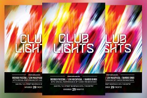 Club Lights Flyer