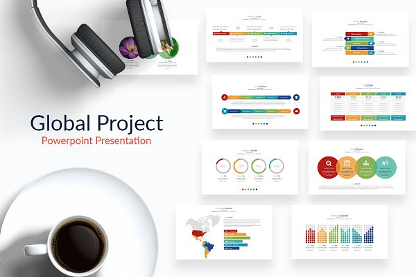 Global Project | Powerpoint Templat…