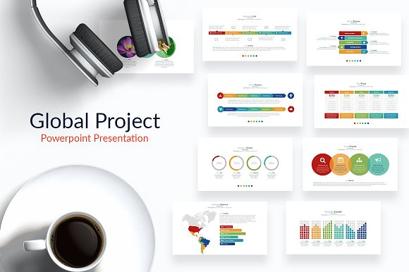 Global Project Powerpoint Template Presentation Templates