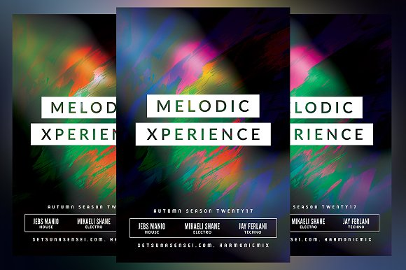 Melodic Xperience Flyer