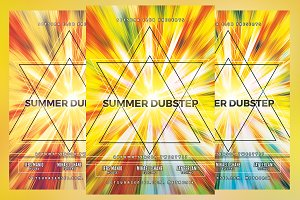 Summer Dubstep Flyer