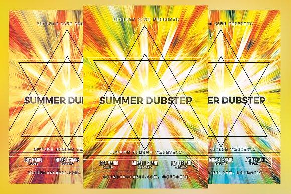 Summer Dubstep Flyer