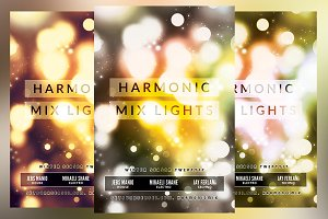 Harmonic Mix Lights Flyer