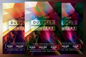 Dubstep Concert Flyer