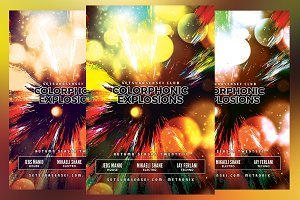 Colorphonic Explosions Flyer