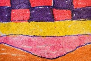 Children's patterns ornaments