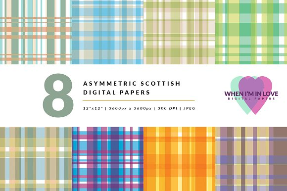 Digital Papers Asymmetric Scottish