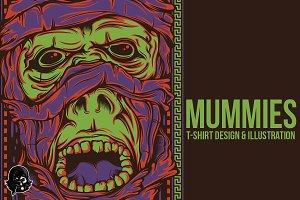 Mummies Illustration