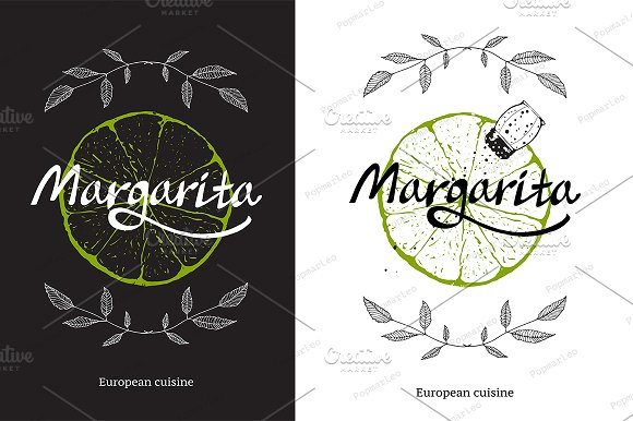 Logo Template With Lime