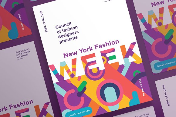 Posters Fashion Week