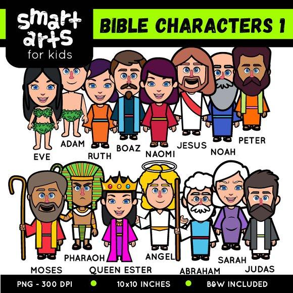 Bible Characters 1 Clip Art