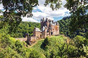 Medieval Eltz Castle in Germany