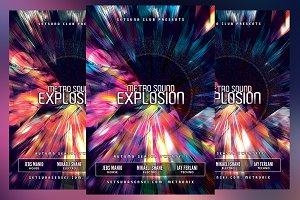 Metro Sound Explosion Flyer