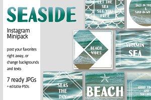 Seaside Instagram Minipack