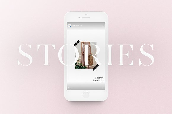 Instagram Stories Pack ~ Instagram Templates ~ Creative Market