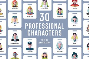 30 Professional Character