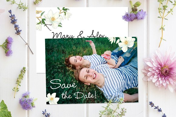 Photography Save The Date Template