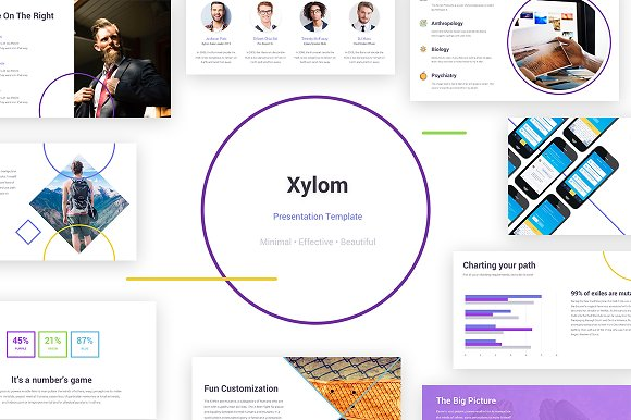 Xylom Clean Powerpoint Template Presentation Templates Creative