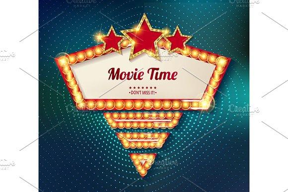 Cinema Golden Shape Frame