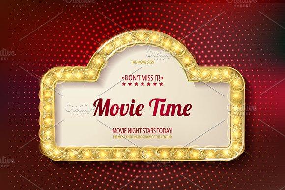 Movie Time Cinema Premiere Poster
